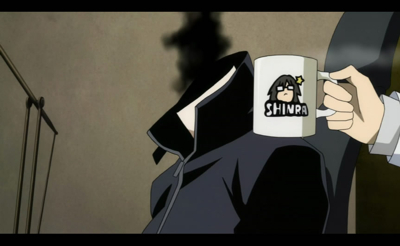 Shinra got mugged.