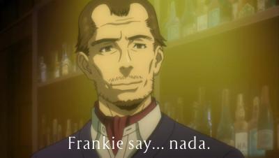 Frankie say… nada.